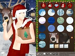 Cool santa dress up game